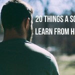 20 Things a son should learn from his mother