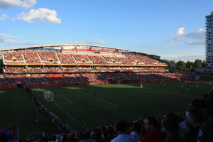 Image of the Lansdowne Park south side stands