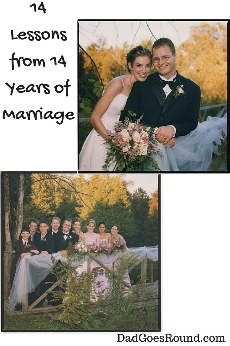 14 Lessons from 14 Years of Marriage | Travel | Follow your dreams | Help your partner follow their dreams |Making Time | Communication | Money is Stressful | Respect | Wine and Lubricant | Sharing the Load | Kids Are and Will Make You Crazy | Kids Make You Work Harder | Relationships Built on U2 | Sometimes You Just Know