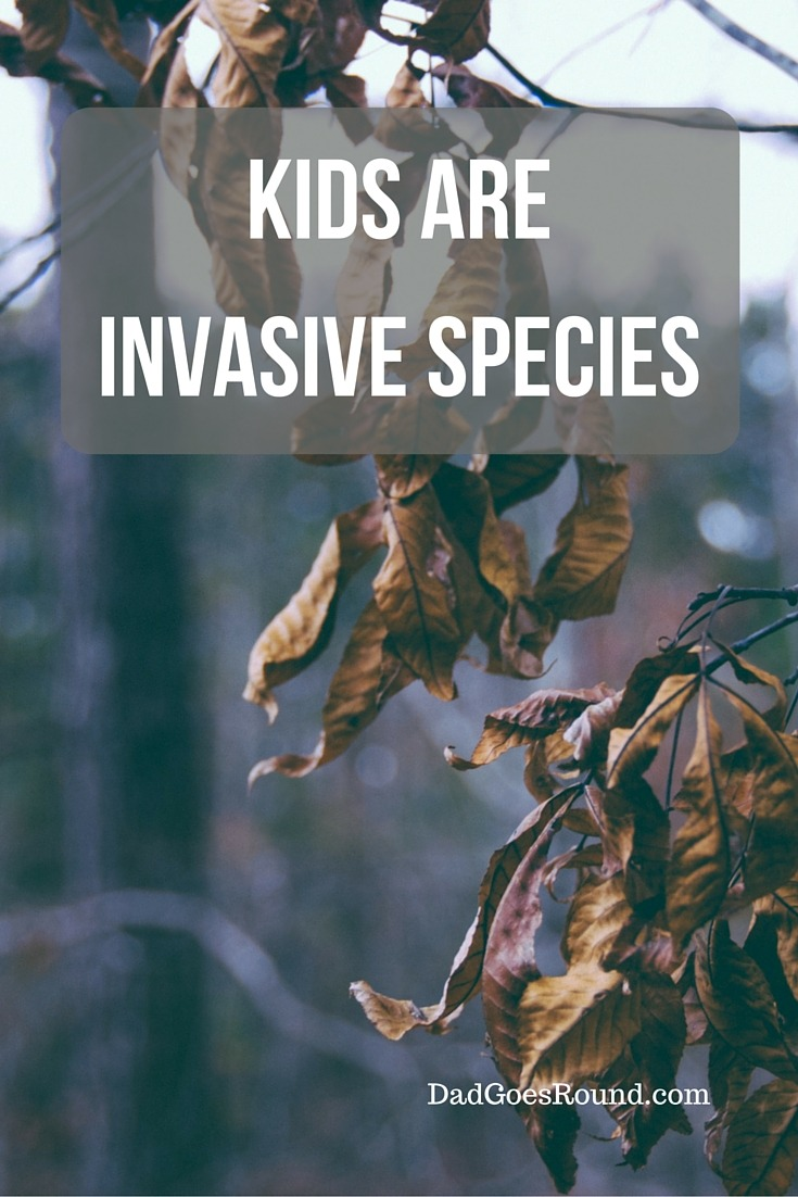 6 Ways Kids Are Like Invasive Species | I think we all know I am right. Kids are invasive species that cause damage to your environment. They are as clingy as a zebra mussel and eat like asian carp.