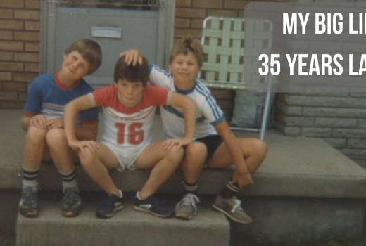 My Big Lie – 35 Years Later