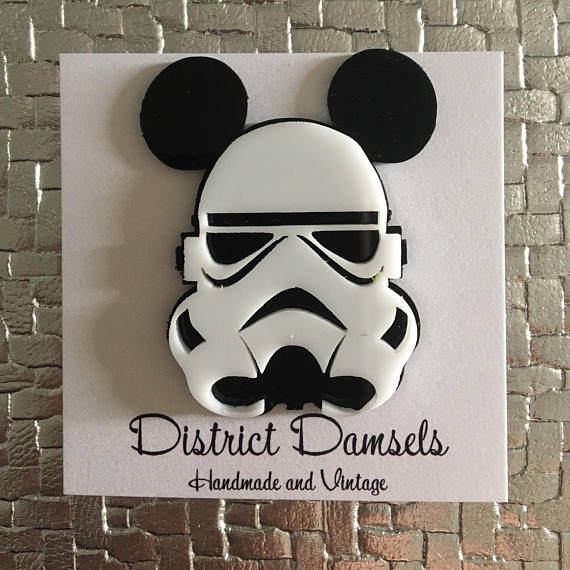 District Damsels Stormtrooper Mickey Mouse