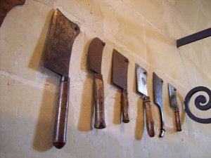 hide the knives Toddler safe house