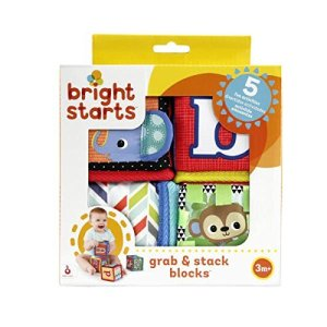 Bright Starts Grab and Stack Blocks