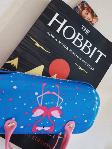 I've read them the Hobbit and they've listened to the audio book twice, but that didn't stop H from picking it for her next read. Luckily she's finished it today, because she's getting a lot of new books for her birthday (as requested).