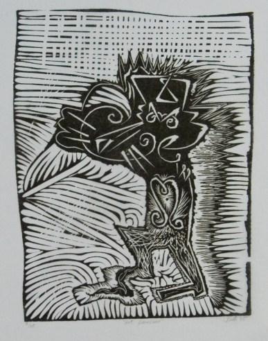 Art panther.37x29