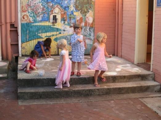 children made their own art