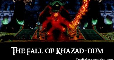 Raid Guide: Tier 3 – The Fall of Khazad-dum