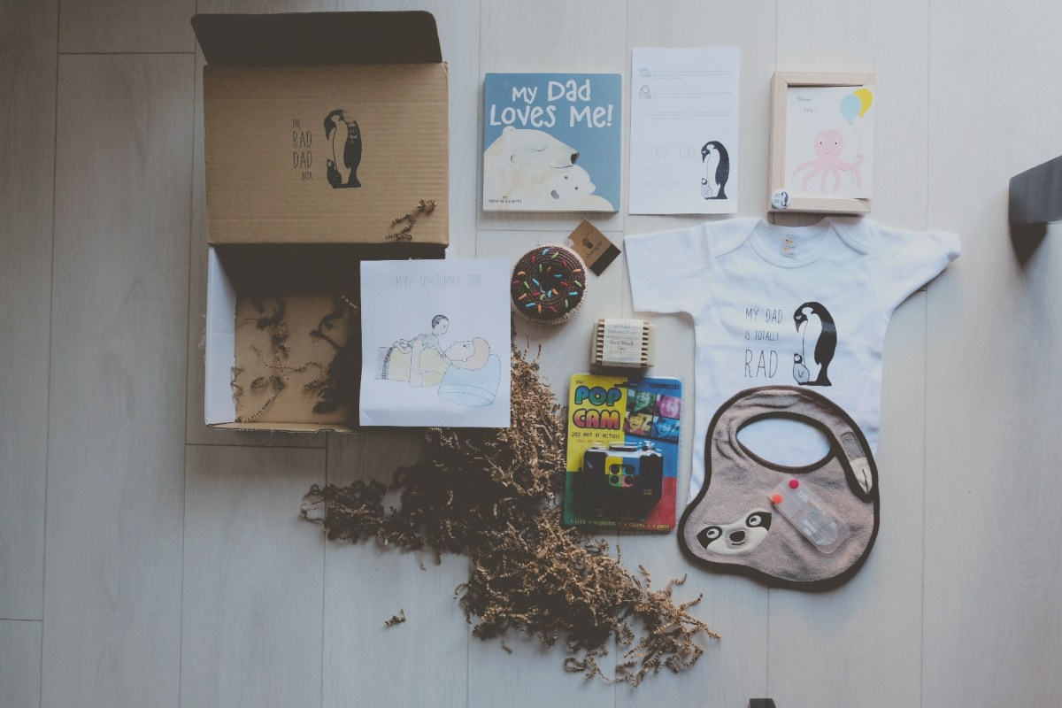 A Gift For Dad Not In A Form of Poop: A Rad Dad Box Review