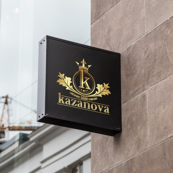 עיצוב לוגו לחברת סיגרים