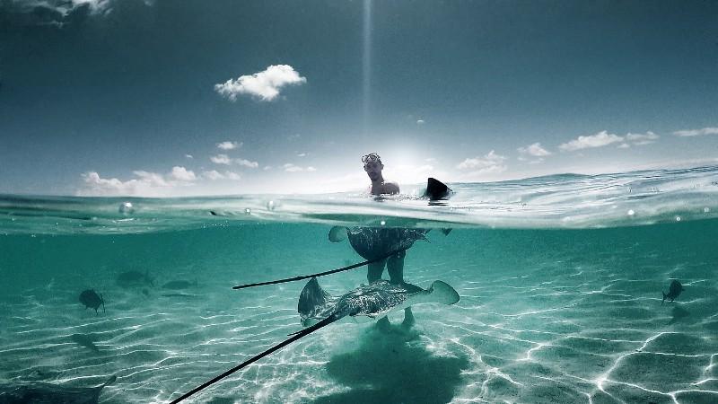 Unter Wasser Bild nicht die Ostsee