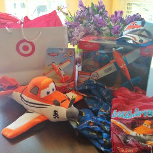 Target and Planes giveaway prize package