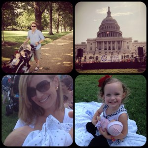 Our day at the great nurse-in at DC capital
