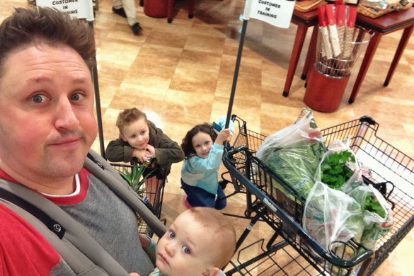 Grocery shopping fun