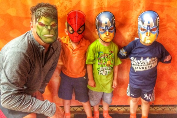 Daddy and the Super Heroes