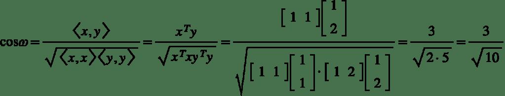Ângulos e ortogonalidade