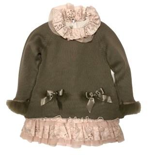 Vestido y jersey Campanilla Lolittos