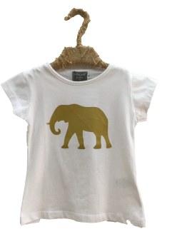 Mon Petit Bonbon Camiseta niña elefante