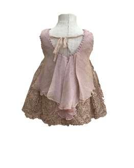 Querida Philippa vestido de tul bordado