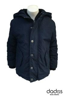 Petrol chaquetón azul marino