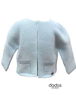 Dolce Petit chaqueta bebé celeste