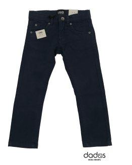 IDO pantalón loneta azul marino