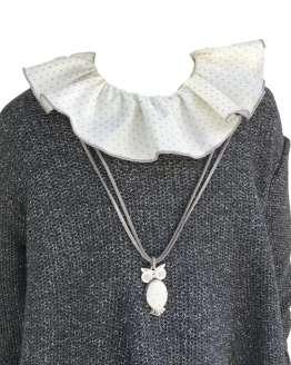 Bamboline Maeve vestido vuelo detalle cuello
