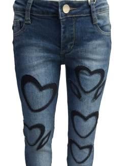 Detalle Fun&Fun pantalon tejano corazones