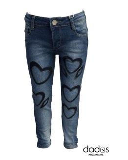 Fun&Fun pantalon tejano corazones