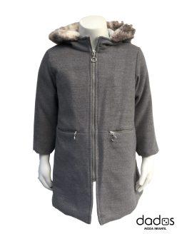 Coco abrigo muflón gris