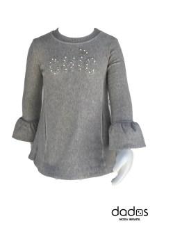 Elsy vestido gris Chic