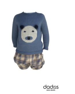 Floc Baby conjunto niño jersey oso