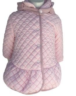 Detalle Coco Acqua abrigo acolchado rosa