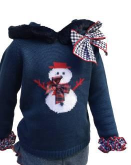 Lolittos colección Olaf niña rana con jersey detalle