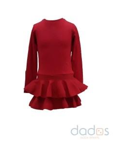 Fun Fun vestido rojo