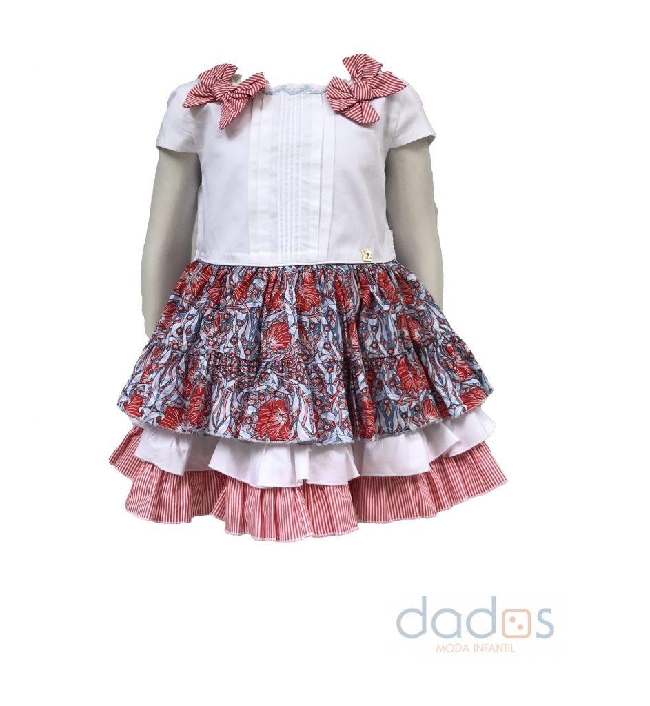 Dolce Petit vestido estampado flores