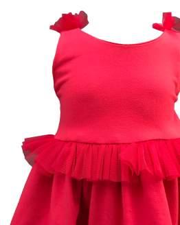 Mon Petit Bonbon vestido rojo detalle