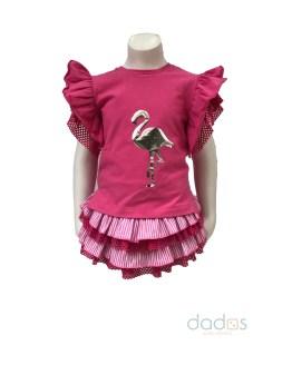 Lolittos colección Flamenco conjunto short