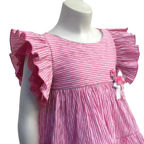 Detalle Lolittos colección Flameco conjunto blusa y short