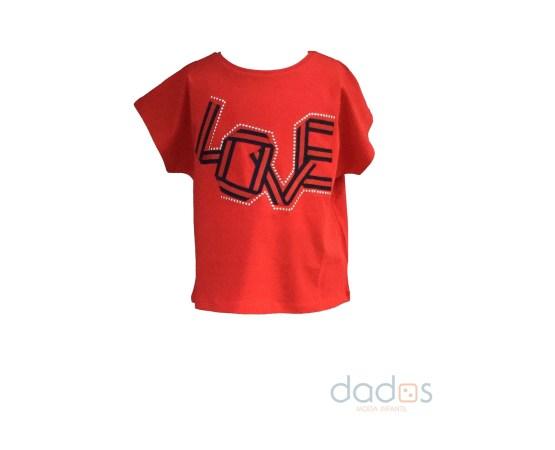 IDO camiseta roja Love
