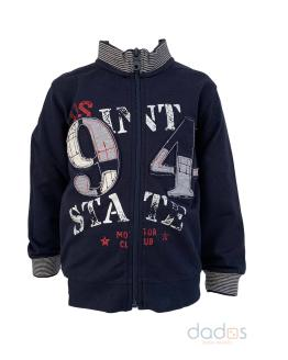 IDO chaqueta niño azul navy