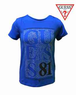 GUESS camiseta azulona 81