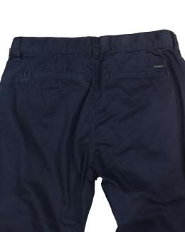GUESS pantalón chino azul marino trasera