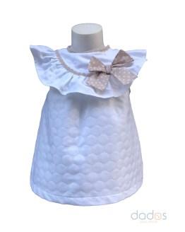Coco Acqua blusa topos relieve y braga