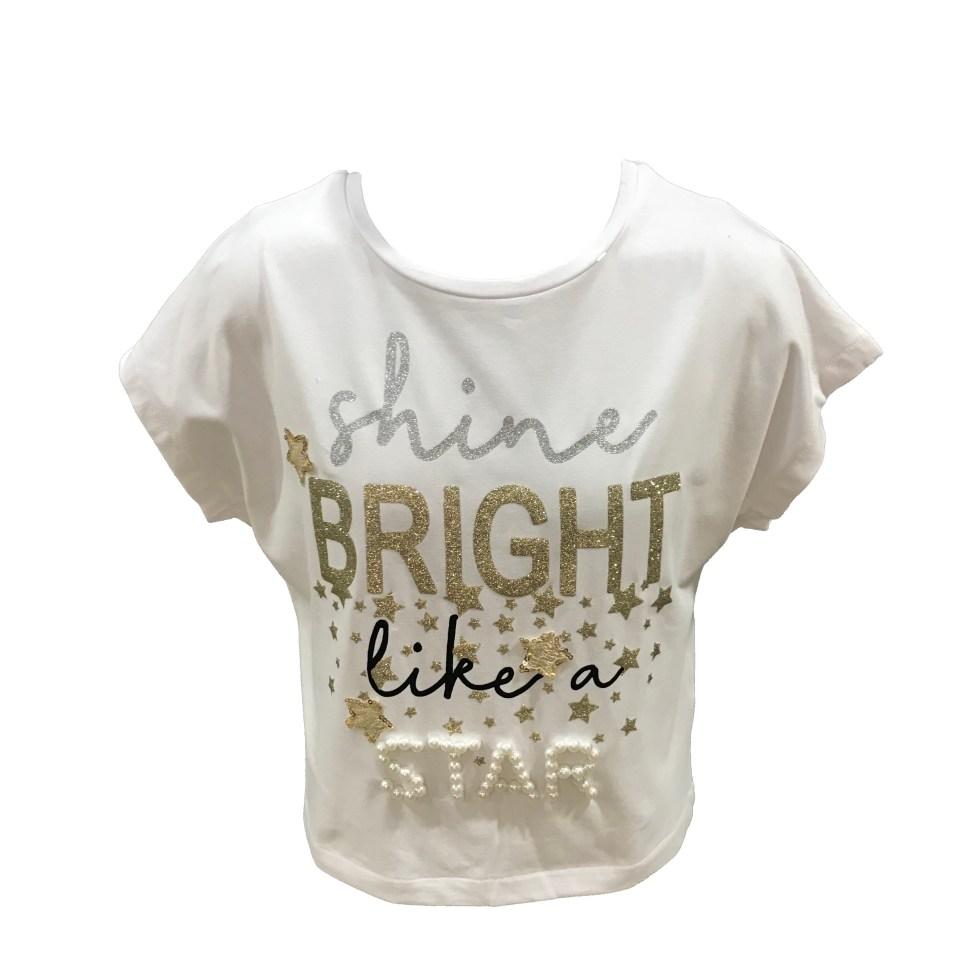 ELSY camiseta Bright espalda abierta