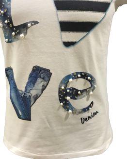 Elsy camiseta Love detalle