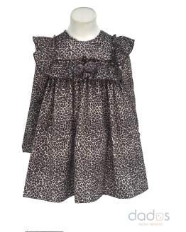 Para Sofía colección Isabelle vestido estampado animal