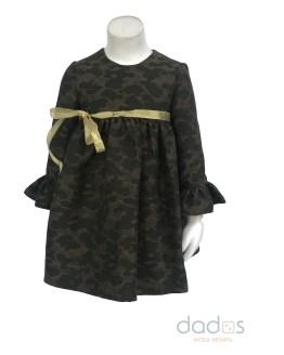 Para Sofía colección Anette vestido camuflaje