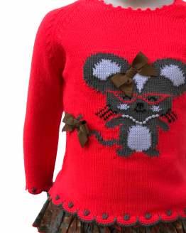 Lolittos colección Dahlia conjunto jersey y cubre detalle