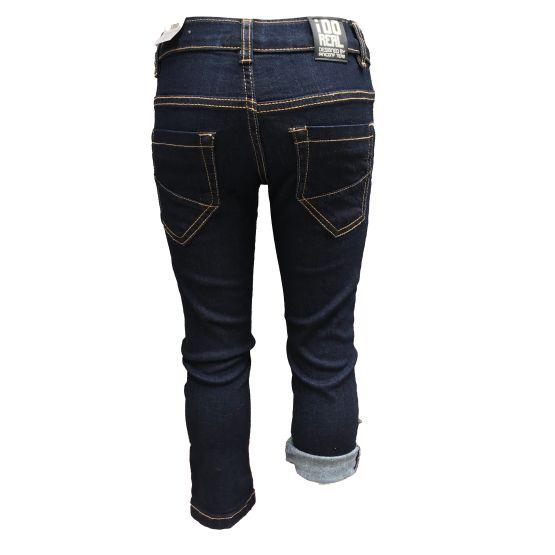 Trasera IDO pantalón vaquero azul oscuro